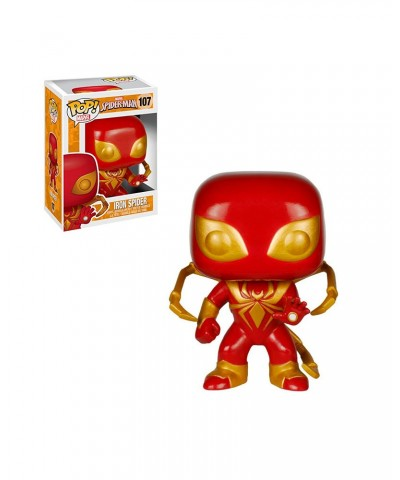 Iron Spider Spider-Man Marvel Muñeco Funko Pop! Bobble Vinyl [107]