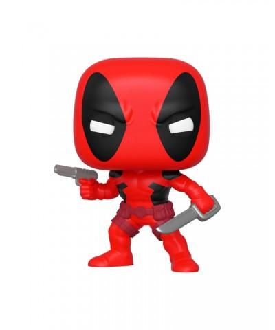 Deadpool (1ª Aparición) Marvel 80th Muñeco Funko Pop! Bobble Vinyl