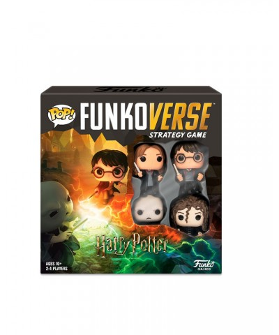 Harry Potter 100 Funkoverse Pack Base Juego de Mesa Funko Pop!