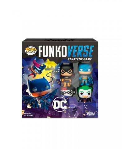 Dc Comics 100 Funkoverse Pack Base Juego de Mesa de Estrategia Muñeco Funko Pop!