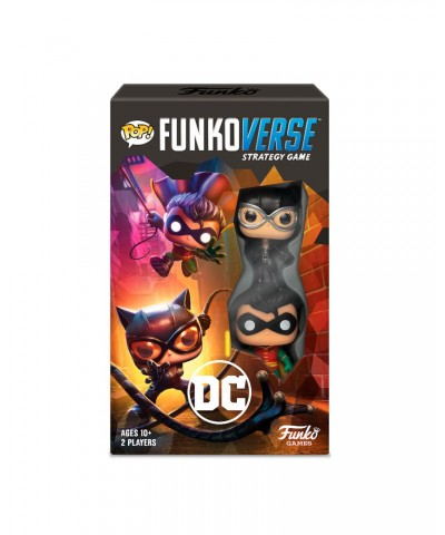 DC Comics 101 Funkoverse Pack Expansión Juego de Mesa de Estrategia Muñeco Funko Pop! Vinyl