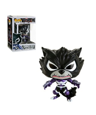 Rocket Raccoon Venom Marvel Muñeco Funko Pop! Bobble Vinyl