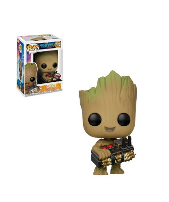 Groot Bomba Guardianes de la Galaxia Vol.2 Marvel Muñeco Funko Pop! Bobble Vinyl [263]