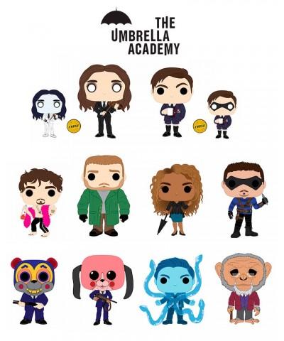 Pack Umbrella Academy Netflix Muñeco Funko Pop! Vinyl