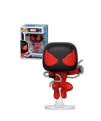 Scarlet Spider Spider-Man Muñeco Funko Pop! Bobble Vinyl [523]