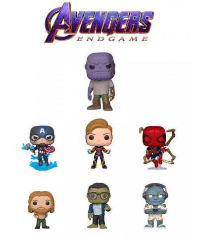 Pack Avengers Endgame Serie 3 Marvel Muñeco Funko Pop! Bobble Vinyl