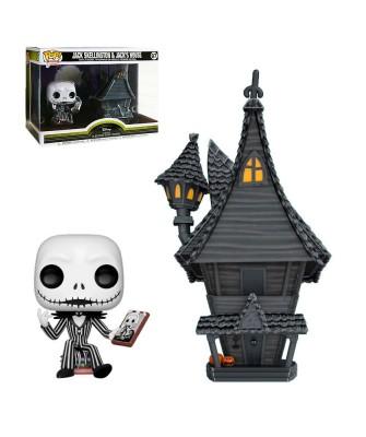 Casa Jack Skeleton Pesadilla antes de Navidad Disney Muñeco Funko Pop! Town Vinyl