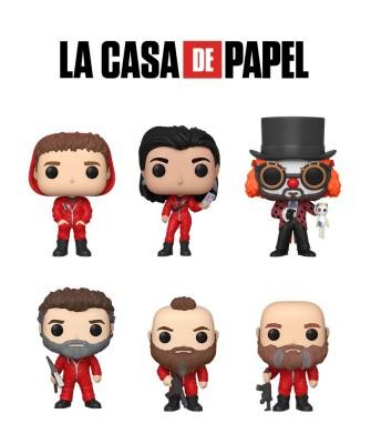 Pack La Casa de Papel Muñeco Funko Pop! Vinyl