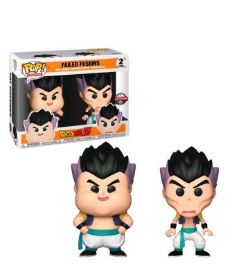 Special Edition Pack 2 Failed Fusions Gotenks Dragon Ball Z Muñeco Funko Pop! Vinyl
