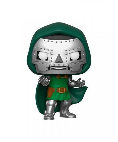 Doctor Doom Los Cuatro Fantásticos Marvel Muñeco Funko Pop! Bobble Vinyl