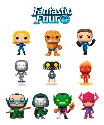 Pack Los Cuatro Fantásticos Marvel Muñeco Funko Pop! Bobble Vinyl
