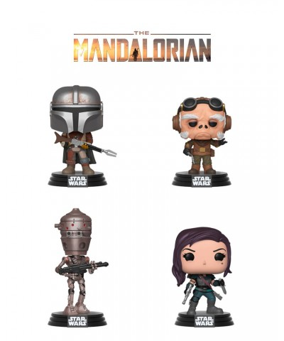 Pack The Mandalorian Star Wars Muñeco Funko Pop! Bobble Vinyl