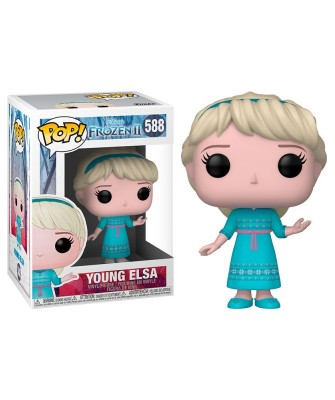 Joven Elsa Frozen 2 Disney Muñeco Funko Pop! Vinyl [588]