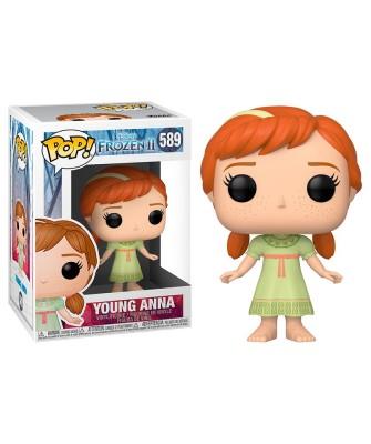 Joven Anna Frozen 2 Disney Muñeco Funko Pop! Vinyl [589]