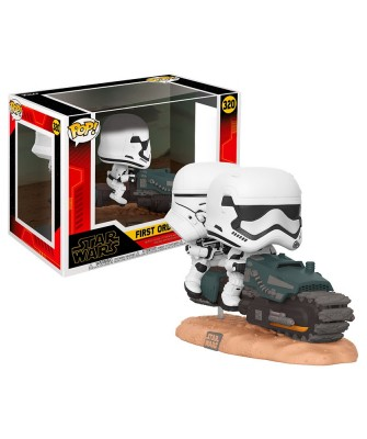First Order Tread Speeder Movie Moments Star Wars Muñeco Funko Pop! Bobble Vinyl [320]