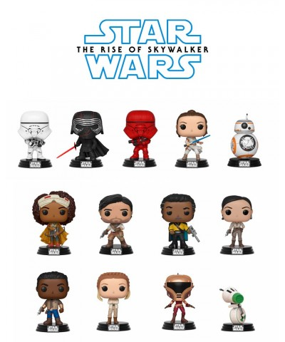 Pack Star Wars Episodio 9 Muñeco Funko Pop! Bobble Vinyl