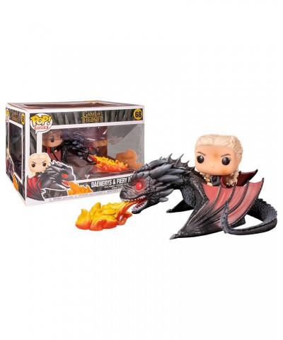 Daenerys y Drogon Fuego Juego de Tronos Muñeco Funko Pop! Vinyl