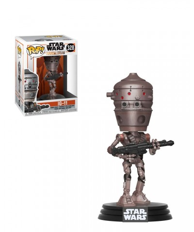 IG-11 The Mandalorian Star Wars Muñeco Funko Pop! Bobble Vinyl