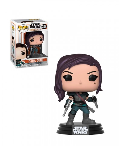 Cara Dune The Mandalorian Star Wars Muñeco Funko Pop! Bobble Vinyl