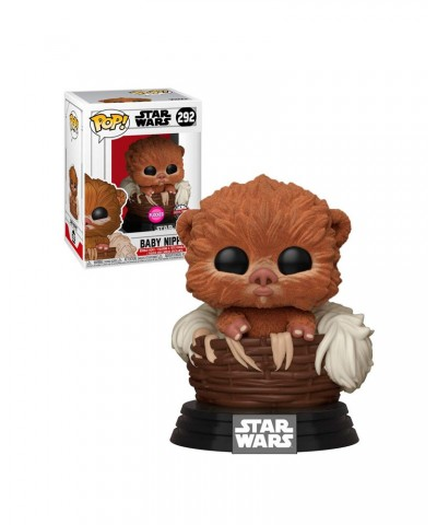 Baby Nippet Flocked Star Wars Muñeco Funko Pop! Bobble Vinyl [292]