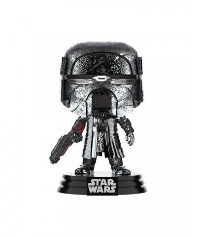 Caballero de Ren Blaster Cromado Star Wars El Ascenso de Skywalker Muñeco Funko Pop! Bobble Vinyl