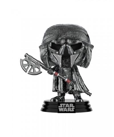 Caballero de Ren Hacha Cromado Star Wars El Ascenso de Skywalker Muñeco Funko Pop! Bobble Vinyl