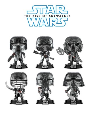 Pack Caballeros de Ren Cromado Star Wars El Ascenso de Skywalker Muñeco Funko Pop! Bobble Vinyl