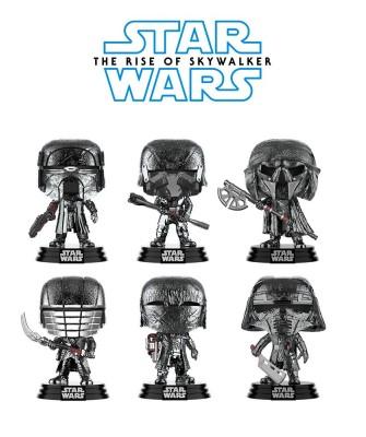 Pack Caballeros de Ren Cromado Star Wars El Ascenso de Skywalker Muñeco Funko Pop! Bobble Vinyl