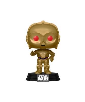 C3PO Ojos Rojos Star Wars El Ascenso de Skywalker Muñeco Funko Pop! Bobble Vinyl