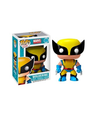 Lobezno X-Men Marvel Muñeco Funko Pop! Bobble Vinyl [05]