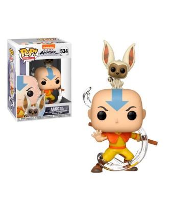 Aang con Momo Avatar La Leyenda de Aang Muñeco Funko Pop! Vinyl [534]