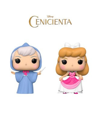 Pack Cenicienta Disney Muñeco Funko Pop! Vinyl