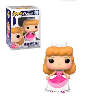 Cenicienta Vestido Rosa Cenicienta Disney Muñeco Funko Pop! Vinyl