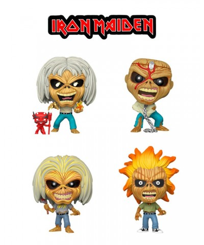 Pack Eddie Iron Maiden Muñeco Funko Pop! Rocks Vinyl