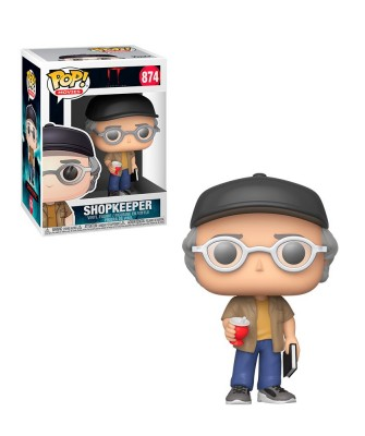 Tendero (Stephen King Cameo) IT Capítulo 2 Muñeco Funko Pop! Vinyl