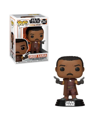 Greef Karga The Mandalorian Star Wars Muñeco Funko Pop! Bobble Vinyl [347]