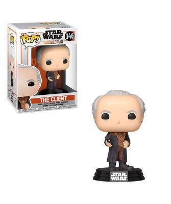 El Cliente The Mandalorian Star Wars Muñeco Funko Pop! Bobble Vinyl [346]