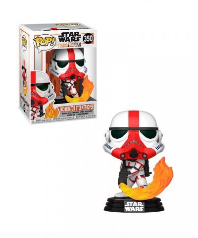Stormtrooper Lanzallamas The Mandalorian Star Wars Muñeco Funko Pop! Bobble Vinyl [350]