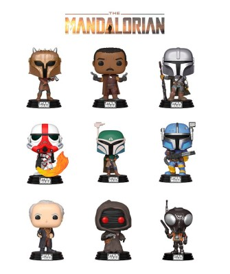 Pack The Mandalorian Serie 2 Star Wars Muñeco Funko Pop! Bobble Vinyl