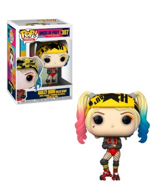 Harley Quinn Patines Aves de Presa DC Muñeco Funko Pop! Vinyl [307]