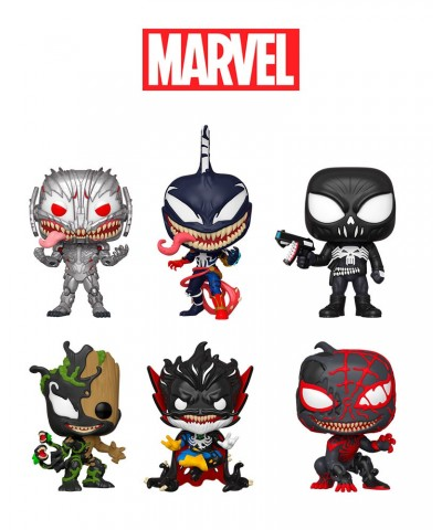 Pack Venomized Serie 3 Marvel Muñeco Funko Pop! Bobble Vinyl
