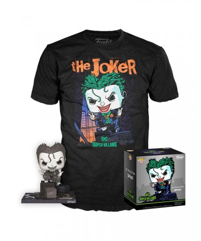 The Joker DC Pop! & Tee Caja Funko