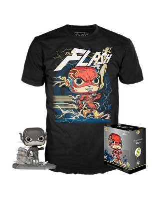 Flash DC Jim Lee Pop! & Tee Caja Funko