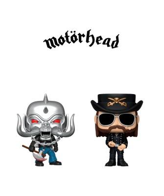 Pack Motorhead Muñeco Funko Pop! Rocks Vinyl