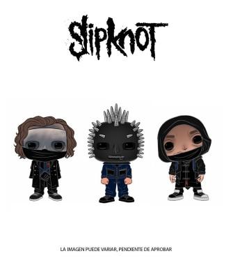 Pack Slipknot Muñeco Funko Pop! Rocks Vinyl