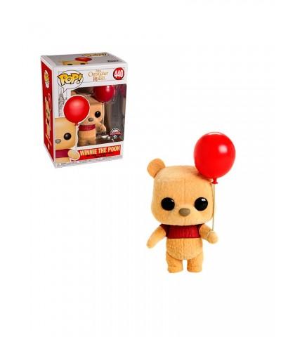 Special Edition Winnie the Pooh (Flocked) Christopher Robin Disney Muñeco Funko Pop! Vinyl [440]