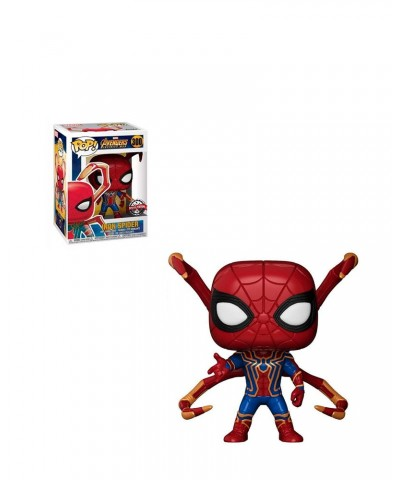 Special Edition Iron Spider Avengers Infinity War Marvel Muñeco Funko Pop! Bobble Vinyl [300]