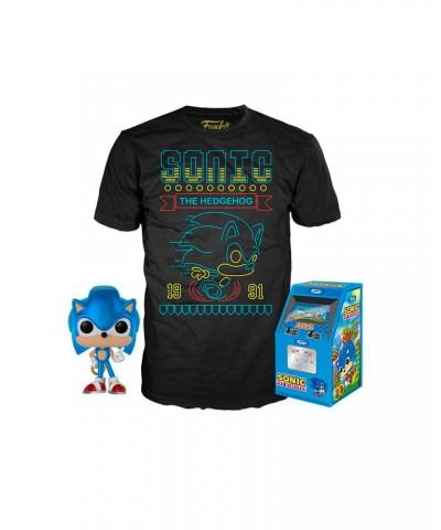 Sonic the Hedgehog Pop! & Tee Caja Funko
