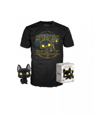 Sirius Black Flocked Harry Potter Pop! & Tee Caja Funko