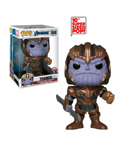"Special Edition Thanos 10"" Avengers Endgame Marvel Muñeco Funko Pop! Bobble Vinyl [460]"